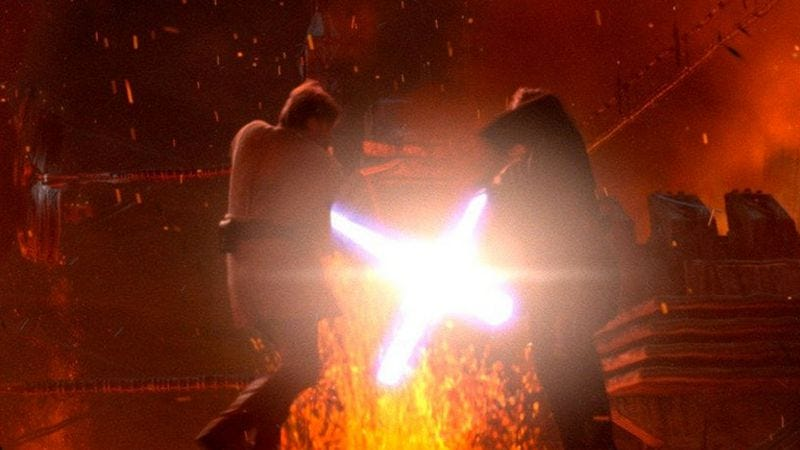 Illustration for article titled Star Wars: Turn To The Dark Side slices the prequels down to one film