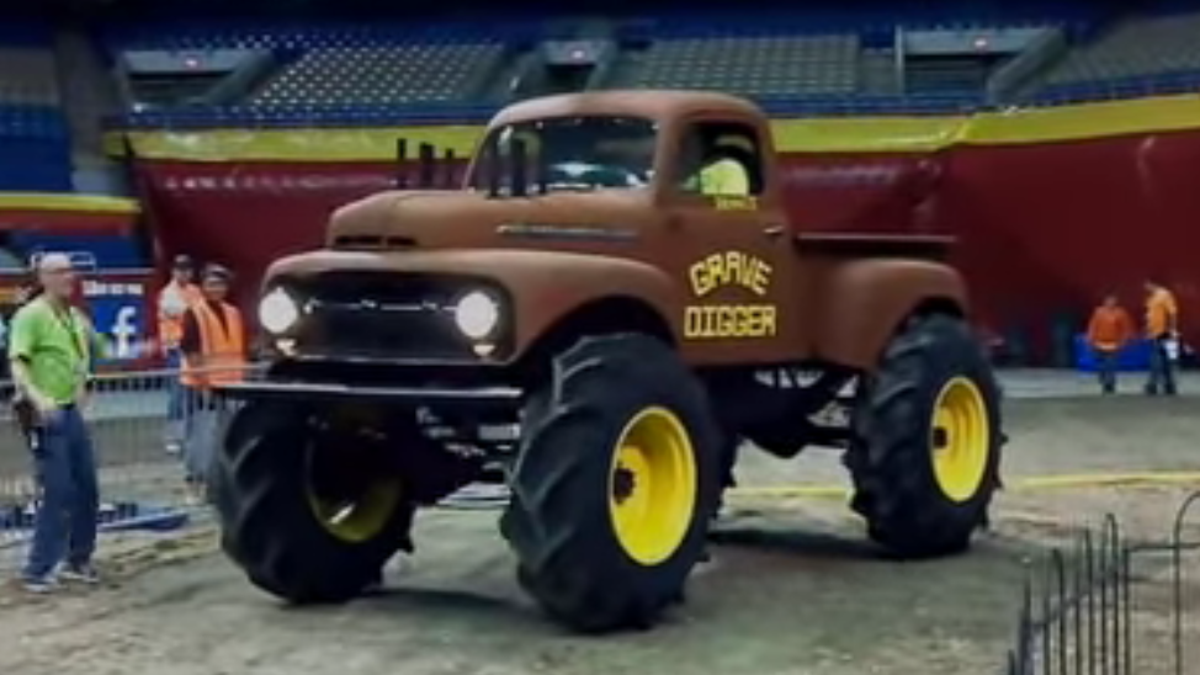 The Story Behind Grave Digger Monster Truck Everybodys Heard Of 1951 Chevy Panel
