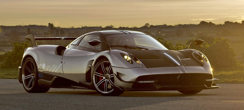 The $2.6 Million Pagani Huayra BC Is Today's Lightest Supercar