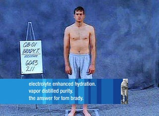 Illustration for article titled Tom Brady Wants You To Buy Some Water