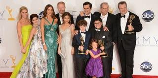 'Modern Family' cast (Joe Klamar/AFP/Getty Images)