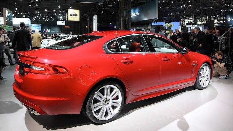 Illustration for article titled 2012 Jaguar XF-R