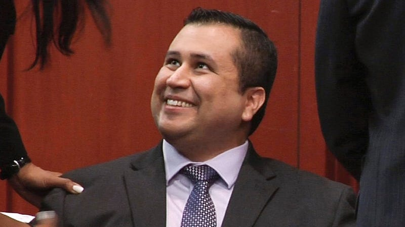 Illustration for article titled George Zimmerman Saves Strangers From Overturned Truck, Disappears