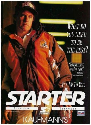 Illustration for article titled Bill Belichick Was Once A Starter Jacket Model