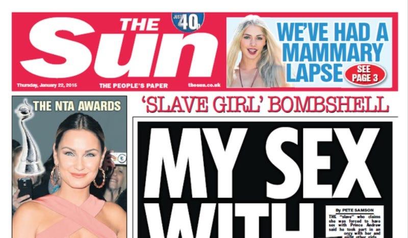 Illustration for article titled The Sun Hasn't Gotten Rid of Topless Women After All