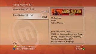 Illustration for article titled Leaked Screens Of Duke Nukem 3D XBLA