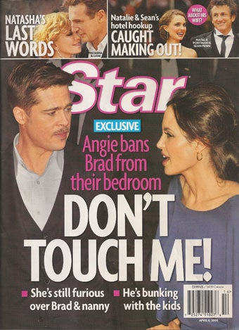 Illustration for article titled This Week In Tabloids:  Brangelina's On The Rocks, Reese Might Get One