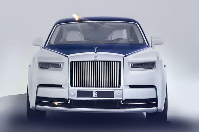 Illustration for article titled Crackdown on 2018 Rolls Royce Phantom Pictures