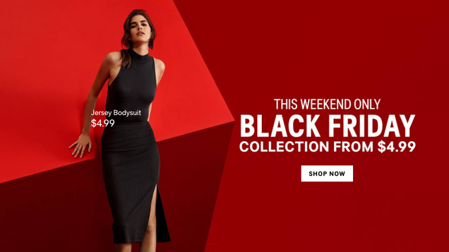 H&M Has Black Friday Deals For as Low as $4, Plus 30% Off Your Entire Order
