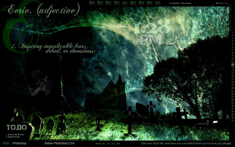 Illustration for article titled The Ultimate Halloween Desktop