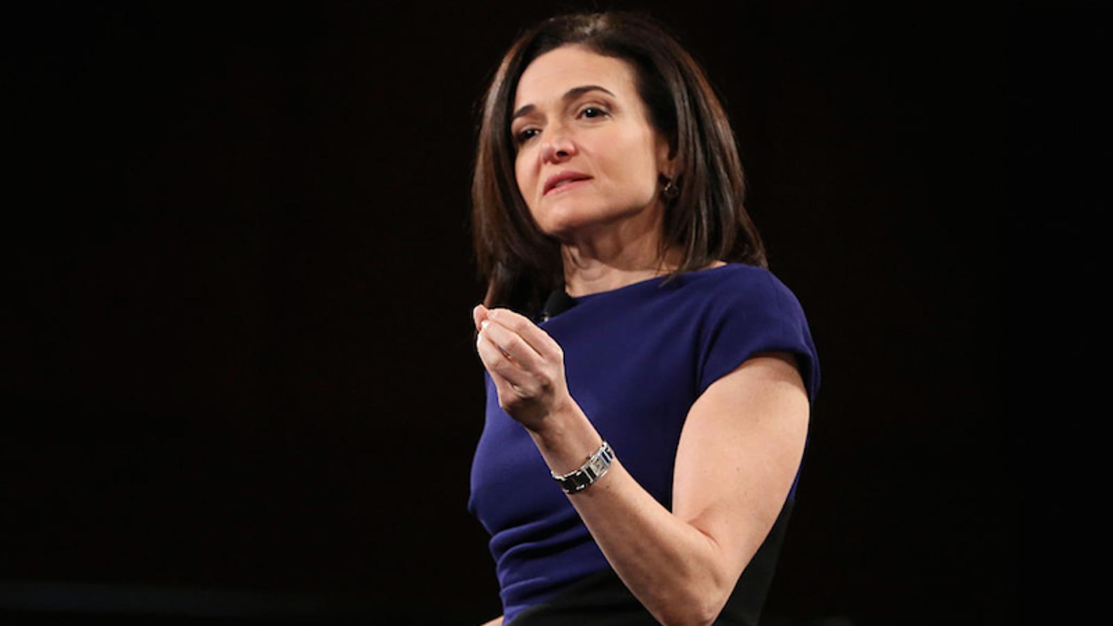 Sheryl Sandberg on Being a Single Mother: 'I Did Not ... Sheryl Sandberg Mother S Day Post