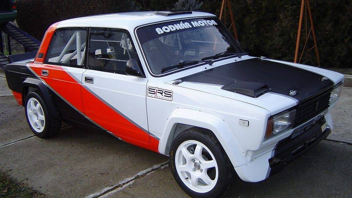 For $40,000, Could This 1987 Lada VFTS Rally The Troops?