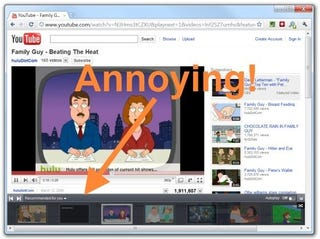 Illustration for article titled Get Rid of the YouTube Autoplay Bar with a User Script