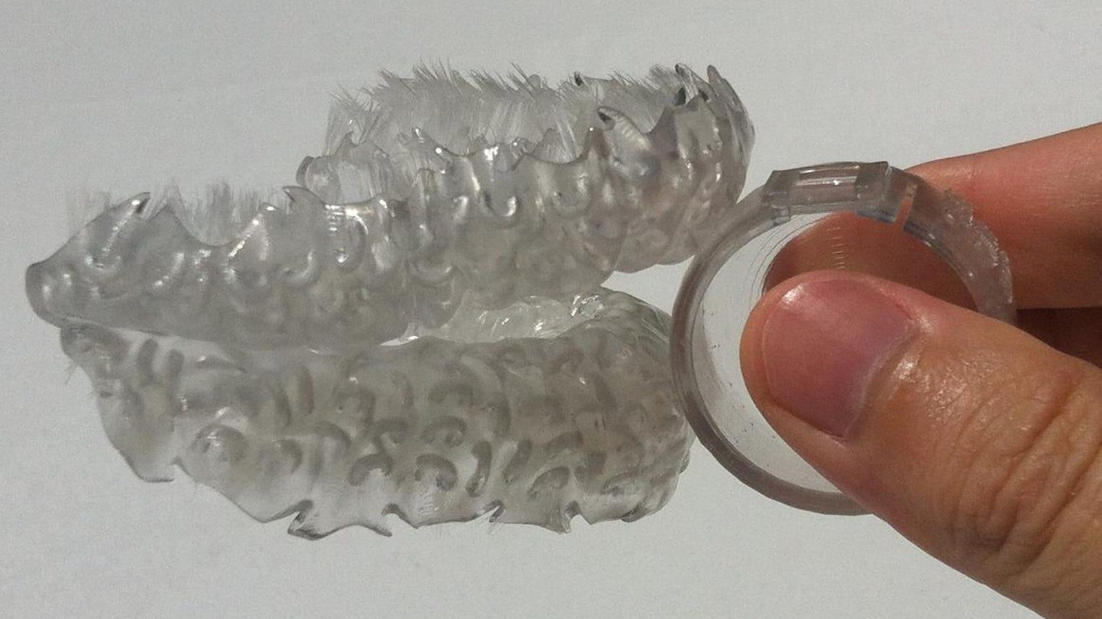 Este ingenioso cepillo impreso en 3D limpia tus dientes en 6 segundos