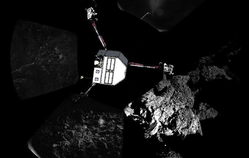 Cómo planea la ESA mover a Philae para evitar que agote su batería