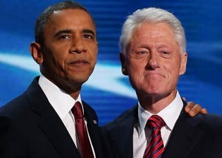 Obama and Clinton (Getty Images)