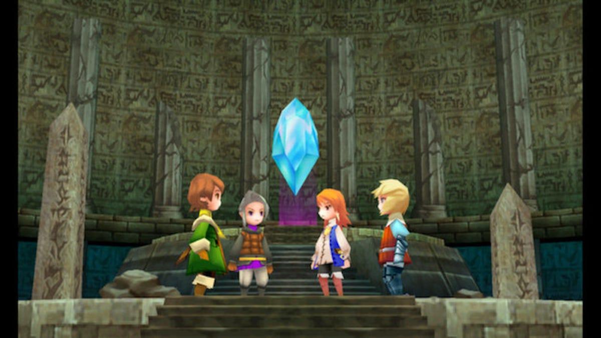 Final Fantasy Iii Retrospective Hope You Like Losing Progress