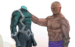 Illustration for article titled The Best Issue of Black Bolt is All About Crusher Creel