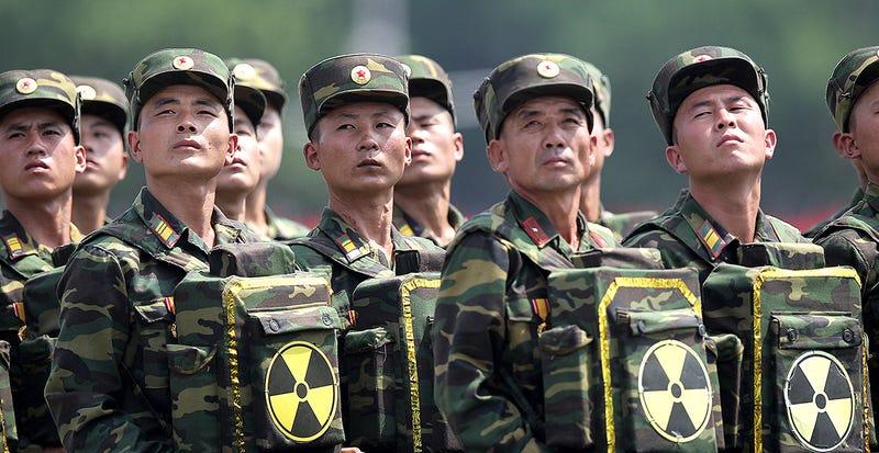 Illustration for article titled Corea del Norte responde a las sanciones poniendo sus armas nucleares en estado de alerta