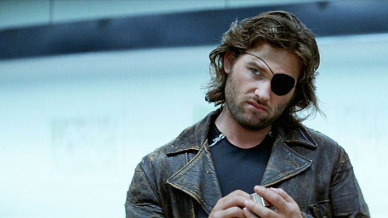 "Illustration for article titled The Escape From New York remake will reveal ""Snake"" Plissken's full name"