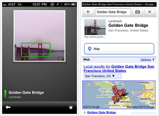 Illustration for article titled Google Goggles Arrives On the iPhone Today