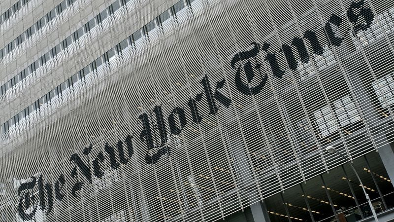 Illustration for article titled The 'New York Times' New Viral Advertising Campaign Is Taking The Internet By Storm