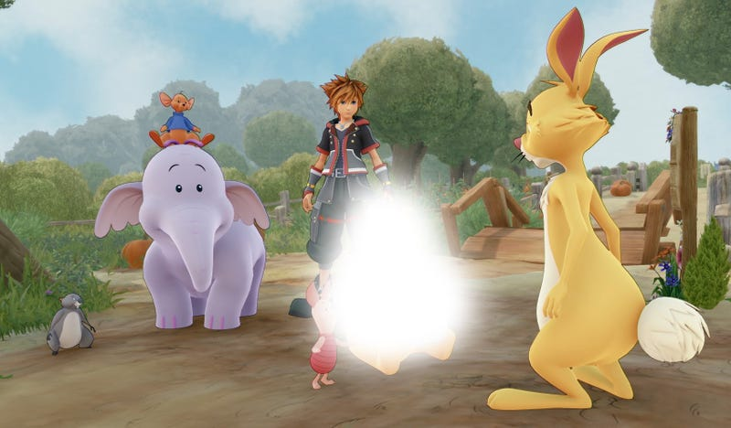 Illustration for article titled En China están censurando a Winnie the Pooh en el juego Kingdom Hearts 3 por su parecido con el presidente