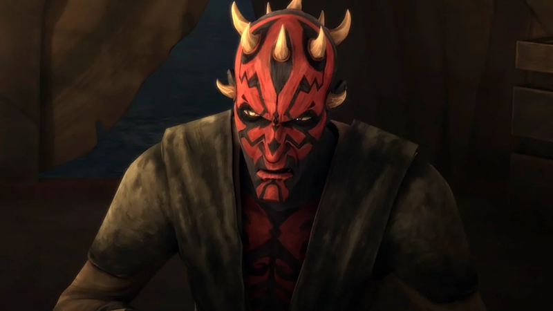 Maul, as voiced by Witwer.