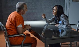 Olivia Pope: Is she handling it or getting handled?Eric McCandless/ABC