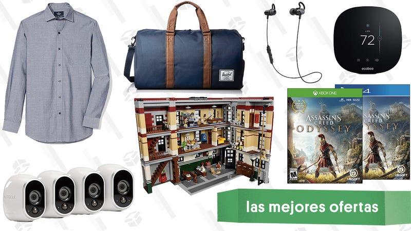 Illustration for article titled Las mejores ofertas de este miércoles: Bolsas Herschel Supplu Co, Assassin's Creed Odyssey, cámaras de Arlo y más
