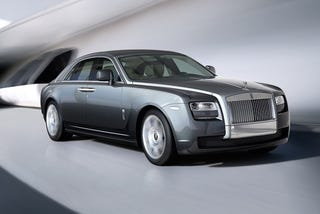Illustration for article titled Rolls-Royce Ghost: Bigger, Longer, More Uncut