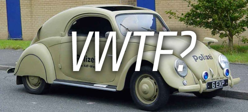Illustration for article titled The True Story Behind This Mysterious Mutant VW Beetle