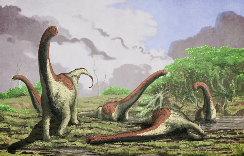 Illustration for article titled These Newly-Discovered Titans Once Stomped Around Africa