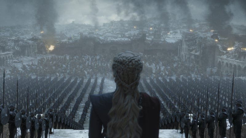 Illustration for article titled Game Of Thrones teases its fiery, climactic finale with new photos
