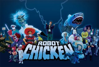 Illustration for article titled Robot Chicken Invades Spore Galactic Adventures