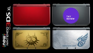 Illustration for article titled New 3DS XL: The TAY Review