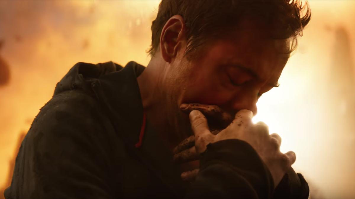 مرگ تونی استارک در اونجرز ۴