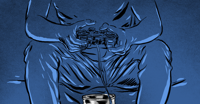 Illustration for article titled Peeing In A Coffee Can, And Other Gaming Marathon Stories