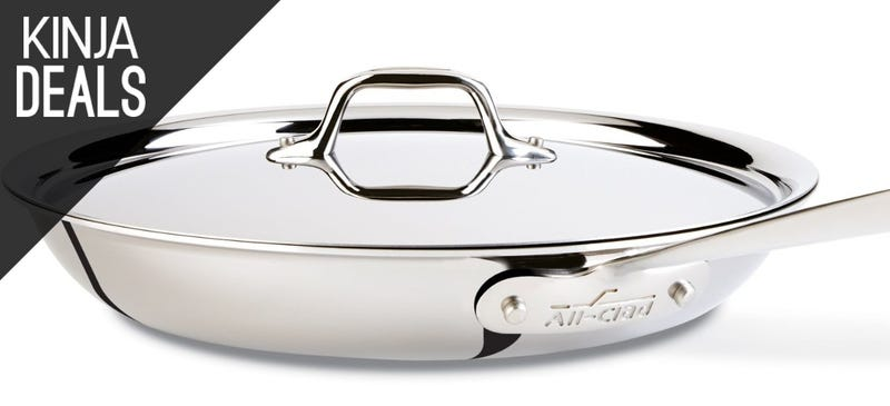 """Illustration for article titled All-Clad's Legendary 12"""" Tri-Ply Skillet Just Got a Rare Discount"""