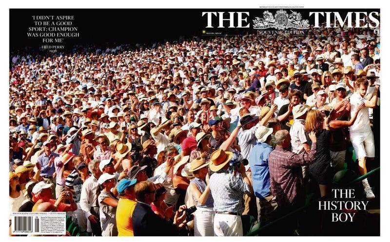 Illustration for article titled Andy Murray Is Already In High Demand