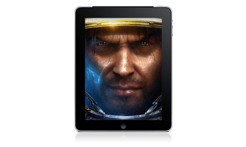 Illustration for article titled Let's Play Starcraft On The iPad!