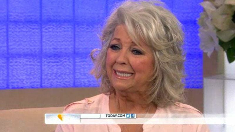 """Illustration for article titled Paula Deen """"is what she is,"""" and what she is is sobbing her way through an uncomfortable Today interview"""