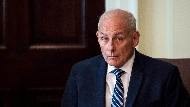 Illustration for article titled John Kelly Relieved Trump So Fucking Stupid He'll Believe Woodward Made Up Disparaging Quotes