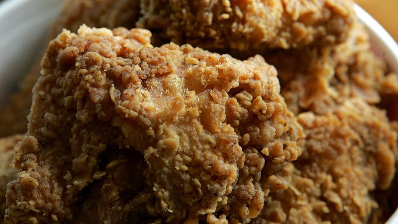 Cases Of Chicken Tenders Spill Off Of A Truck In Alabama