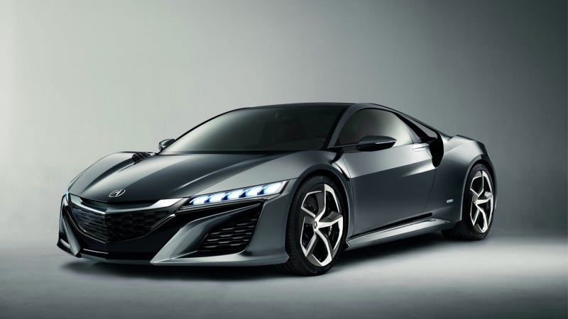 2015 Acura NSX Gets Two Turbos To Go With Its Three Electric Motors