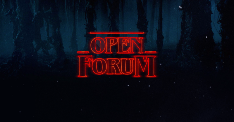 Illustration for article titled Open Forum