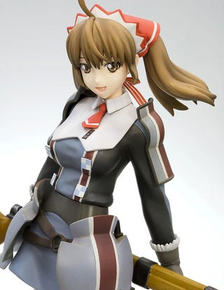 Illustration for article titled Valkyria Chronicles Figure Does The Lovely Alicia Justice