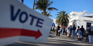 Early voters in Florida (Joe Raedle/Getty Images)