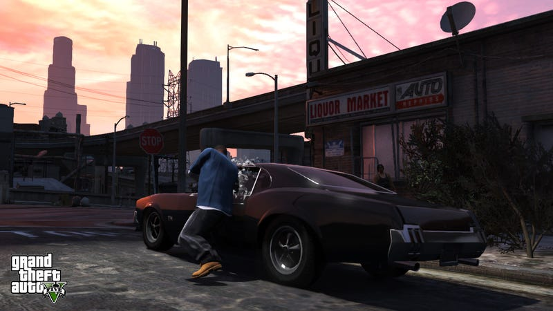GTA V Is So Detailed You Can Hear Car Engines Cool - Cool cars gta