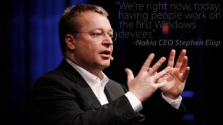 Illustration for article titled Nokia CEO Stephen Elop Confirms the Obvious